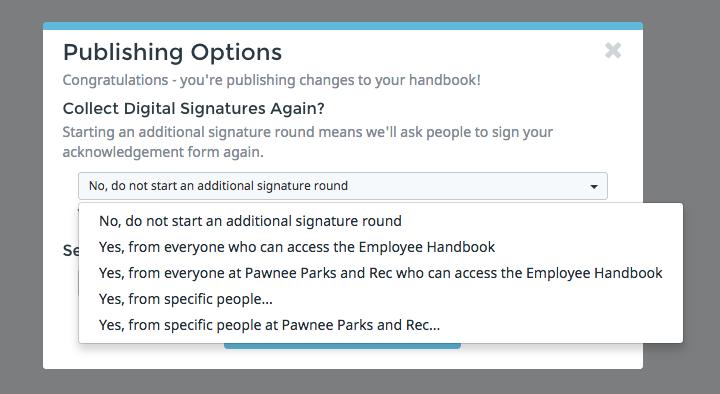 Handbook Multiple Signatures